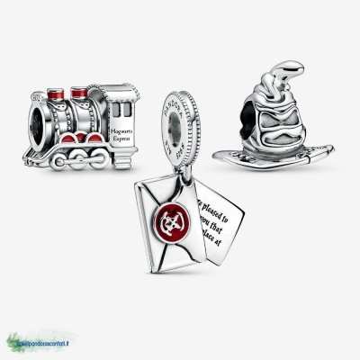 Gioielli Pandora Offerte Harry Potter Journey to Hogwarts Charm Pack