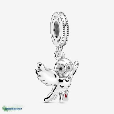 Gioielli Pandora Offerte Harry Potter, Hedwig Owl Dangle Charm